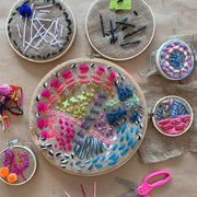 Children's May Half Term Craft Class - Beginners Embroidery