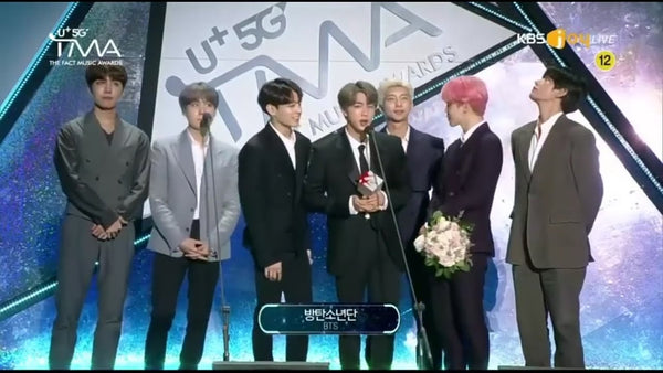 BTS WINS 'ARTIST OF THE YEAR' @THE FACT MUSIC AWARDS 2019