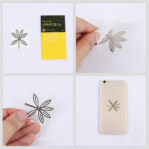 NCT Gold Plated Anti-radiation Sticker for Mobile Phone Laptop