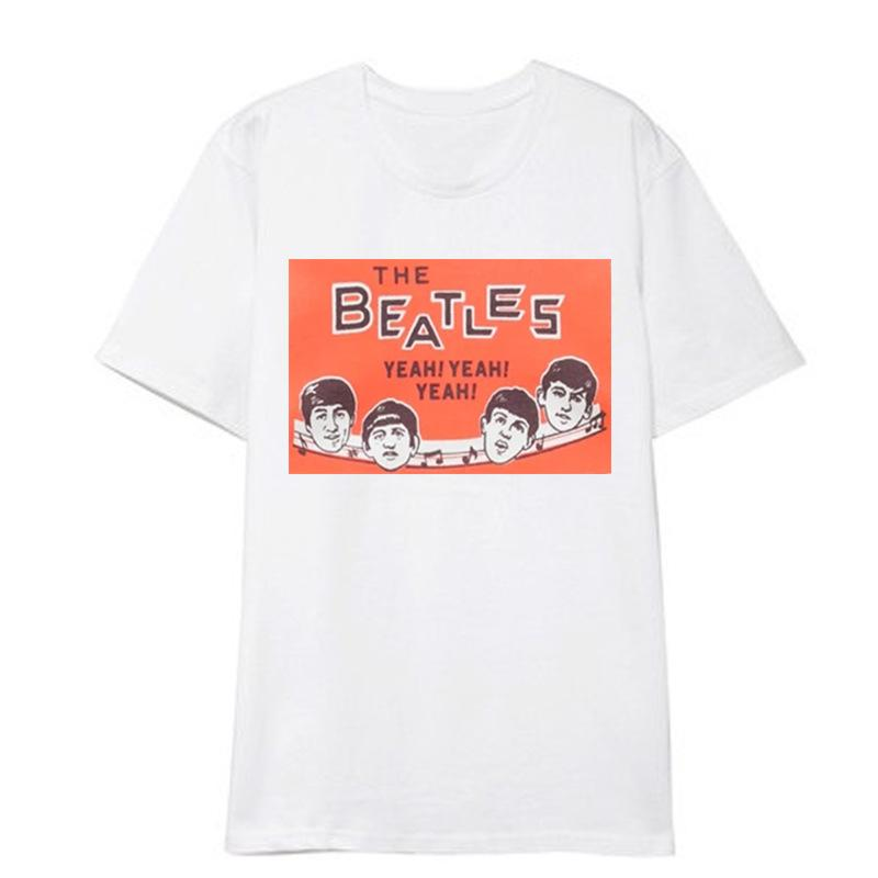 Kpop Style The Beatles T-shirt
