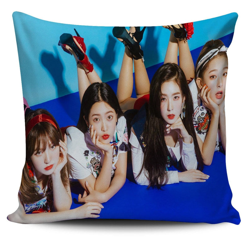 Red Velvet Summer Magic Pillow Cover