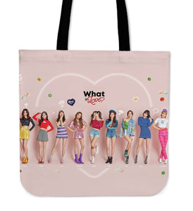 Twice What Is Love Tote Bag