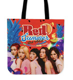 Red Velvet Summer Tote Bag