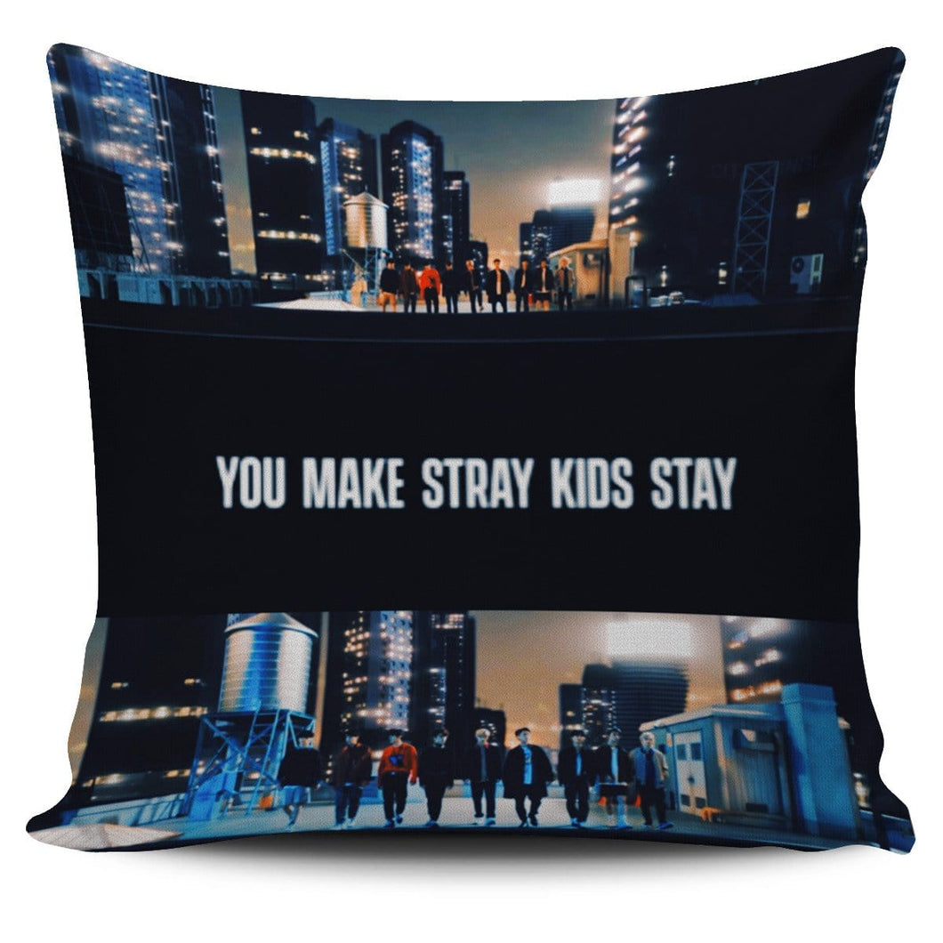 Free You Make Stray Kids Stay Pillowcases