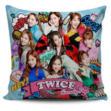 Twice Pillow Covers