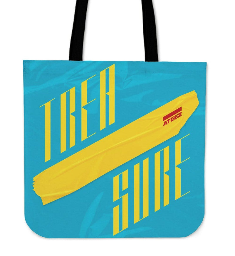 Ateez Treasure Tote Bag in Blue and Red