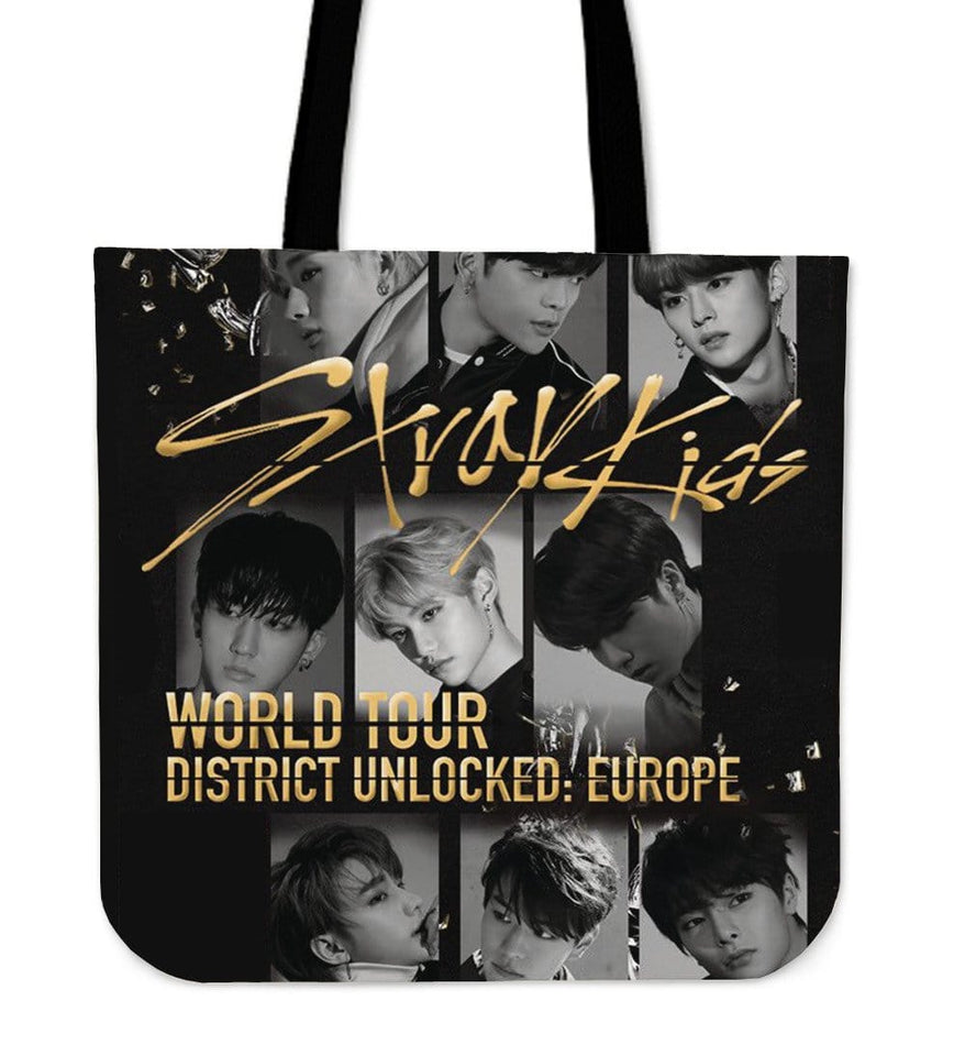 Stray Kids District 9 Unlock  World Tour Tote Bag