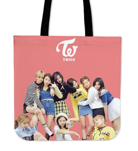 Twice Tote Bag Version 2