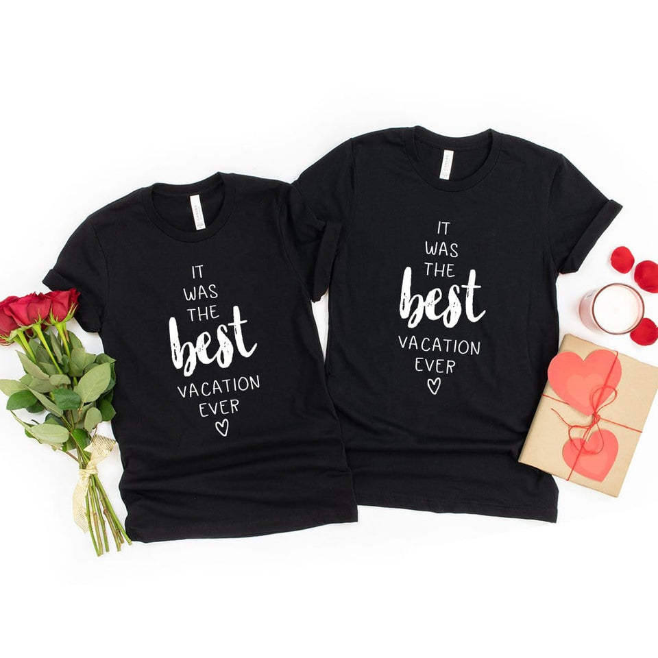The Best Vacation Couple T-Shirt