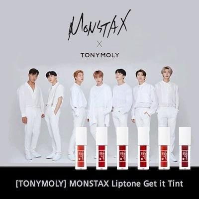 TONYMOLY X MONSTAX LIPTONE GET IT TINT S KIT [AUTHENTIC]
