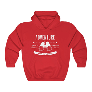 The love for Adventure Couple Hoodie