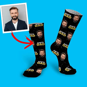 Darth Dad Customized Sublimation Socks