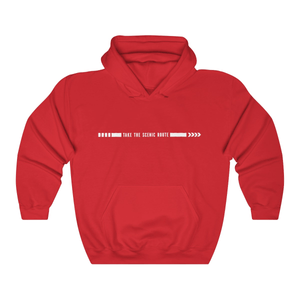 Take the Scenic Route Couple Hoodies