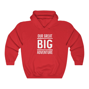 Our Great Big Adventure Couple Hoodies