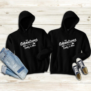 The Adventures of Ours Couple Hoodie