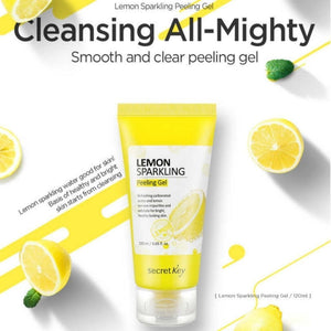 Secret Key - Lemon Sparkling Peeling Gel 120ml