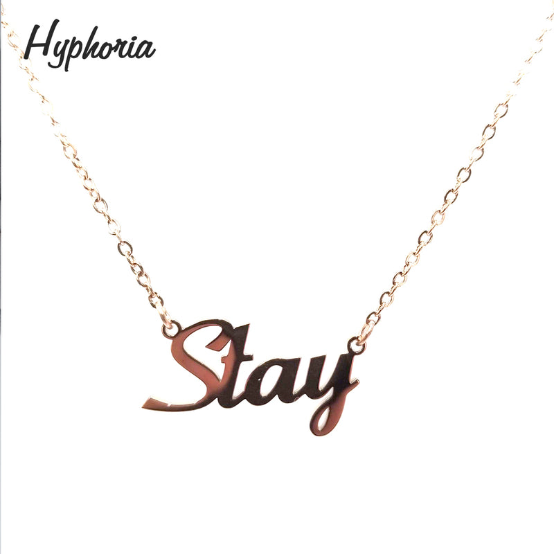 Personalized English Name Necklace