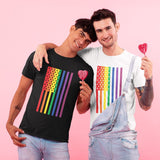 Gay Pride Rainbow Flag Couple Shirt - LGBT Pride T-Shirt