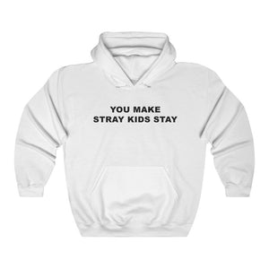 Stray Kids - You Make Stray Kids Stay White Hoodie