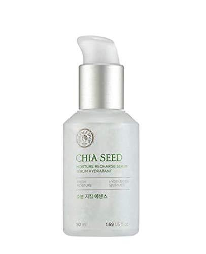 [THEFACESHOP] Chia Seed Moisture Recharge Serum, Simple Skin Care For Normal To Oily Skin, Dermatologist Tested, 50mL/1.69Oz