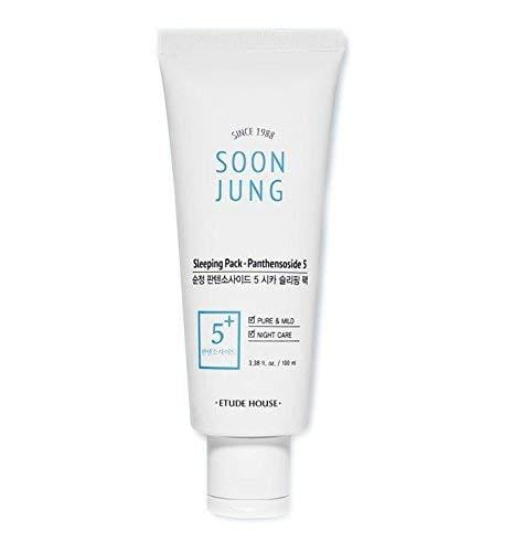 Etude House SoonJung 5 Panthensoside Cica Sleeping Pack 100ml