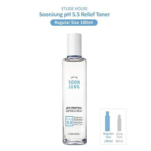 ETUDE HOUSE Soonjung pH5.5 Relief Toner (180ml)