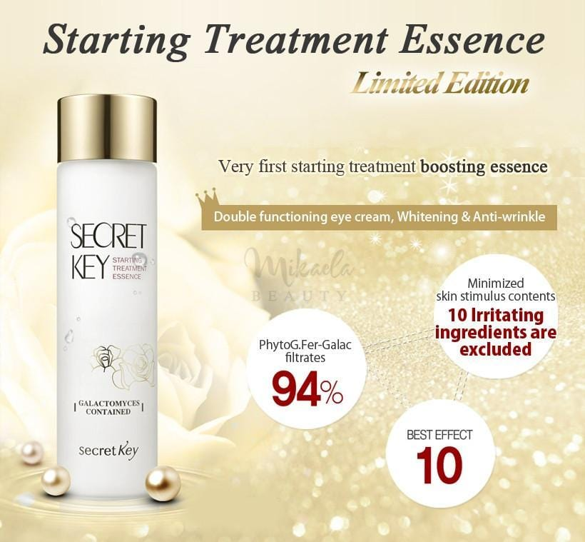 Secret Key - Starting Treatment Essence - Rose Edition 150ml