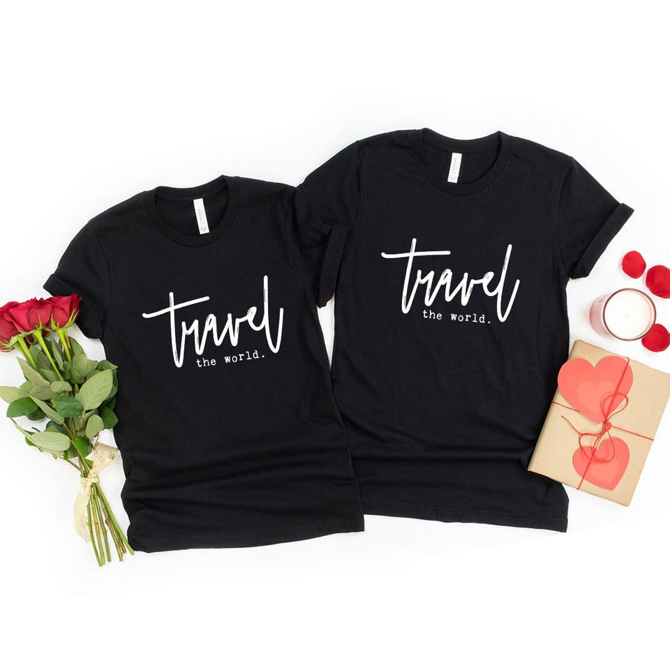 Travel the World Couple T-Shirt