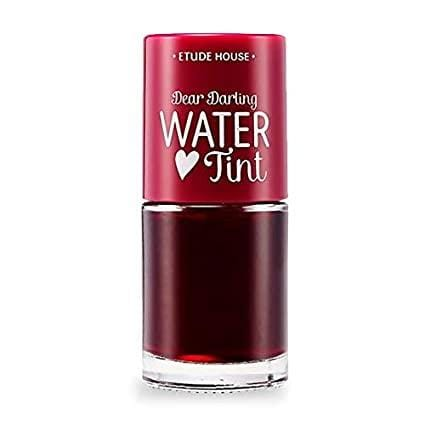 ETUDE HOUSE Dear Darling Water Tint  | Bright Vivid Color Lip Tint with Moisturizing Pomegranate & Grapefruit Extract to Hydrate your Lips