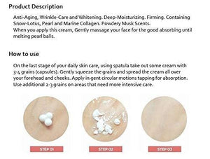 [THEFACESHOP] Yehwadam Snow Lotus Brightening Pearl Capsule Cream