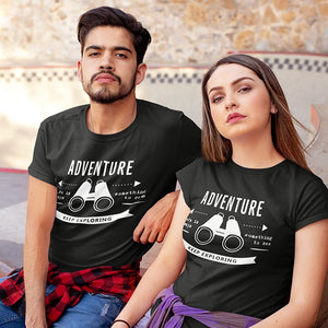 Let's Keep Exploring Couple T-Shirt