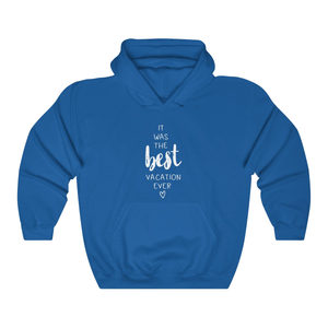 The Best Vacation Couple Hoodies