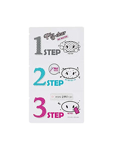 Holika Holika Pig Nose Clear Black Head 3-Step Kit (Set of 5)
