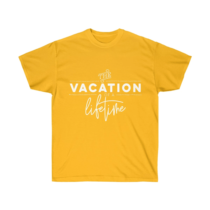 The Vacation of a Lifetime Couple T-Shirt