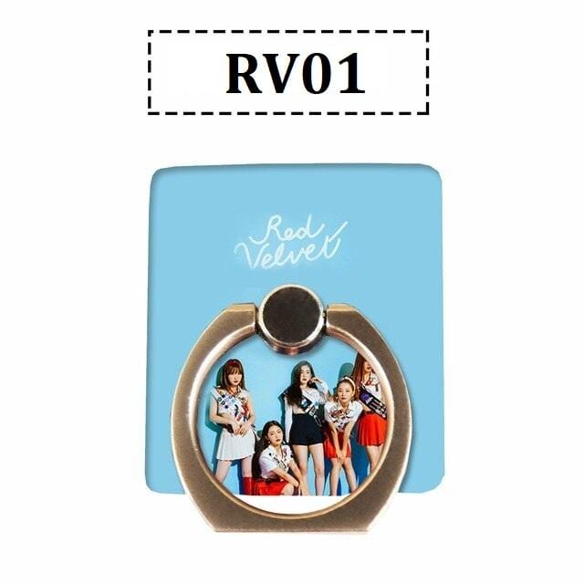 Red Velvet Mobile Phone Ring Holder