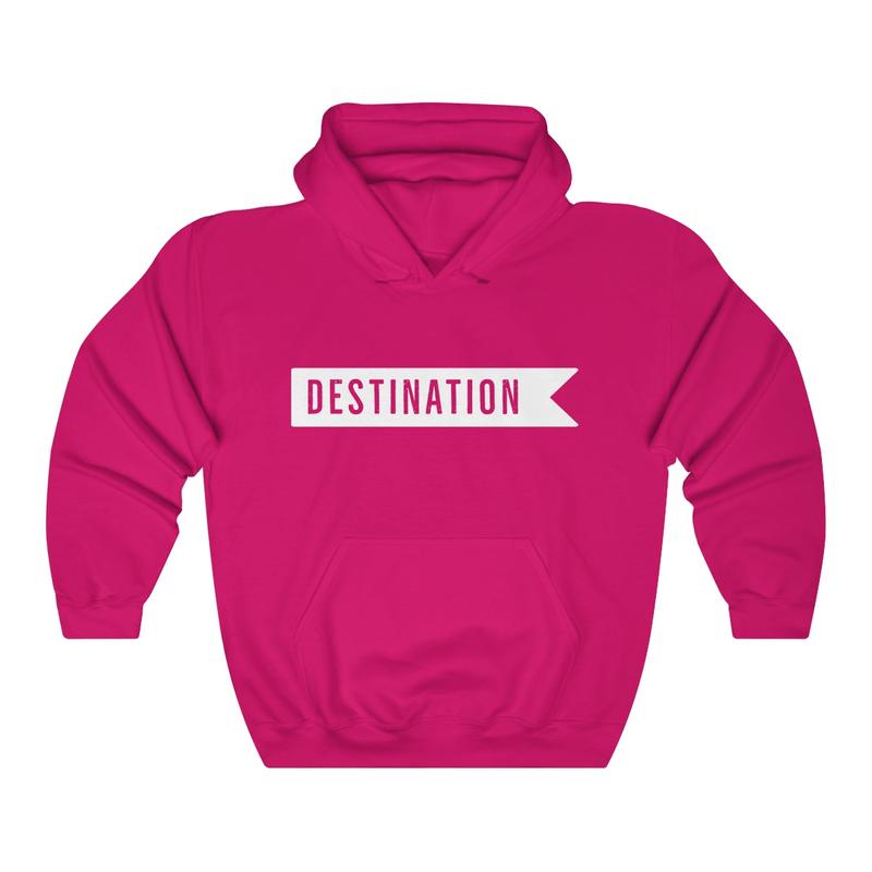 With You is My Favorite Destination Couple Hoodies