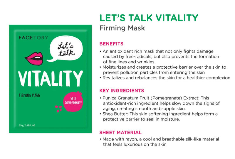 FaceTory 7 Sheet Mask Gift Set