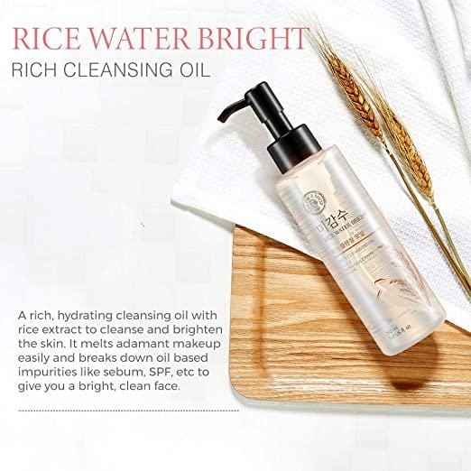 Rice Water Bright Light Cleansing Oil, 20 G.
