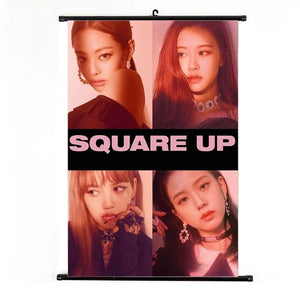 Blackpink Square Up Wall Hanging Scroll Poster
