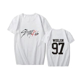 Stray Kids Black White T-shirt