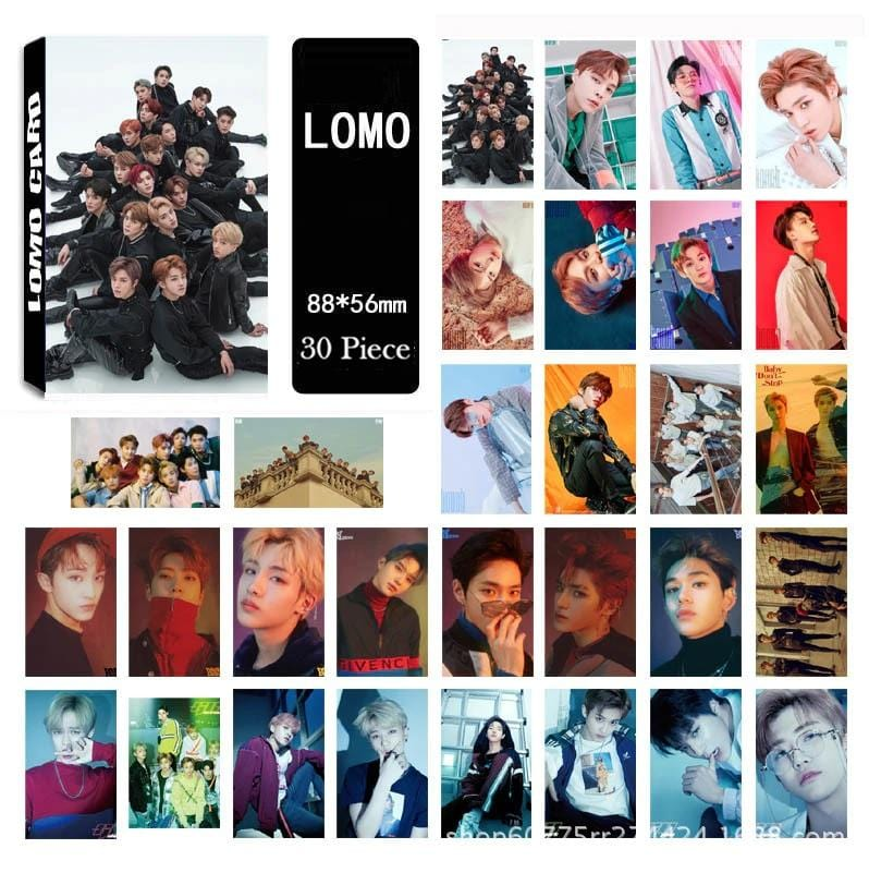 NCT 127 U Dream HD Lomo Cards - 30Pc Set