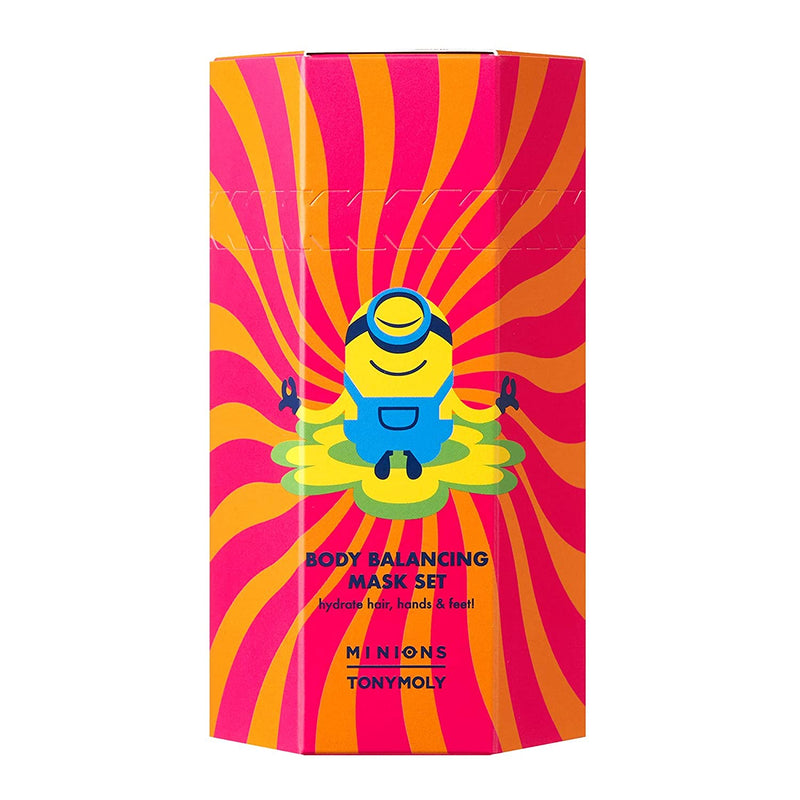 TONYMOLY Minion Body Mask Set, 4 oz.