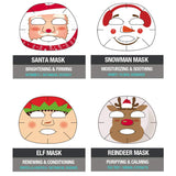 Epielle Christmas Holiday Character Sheet Mask
