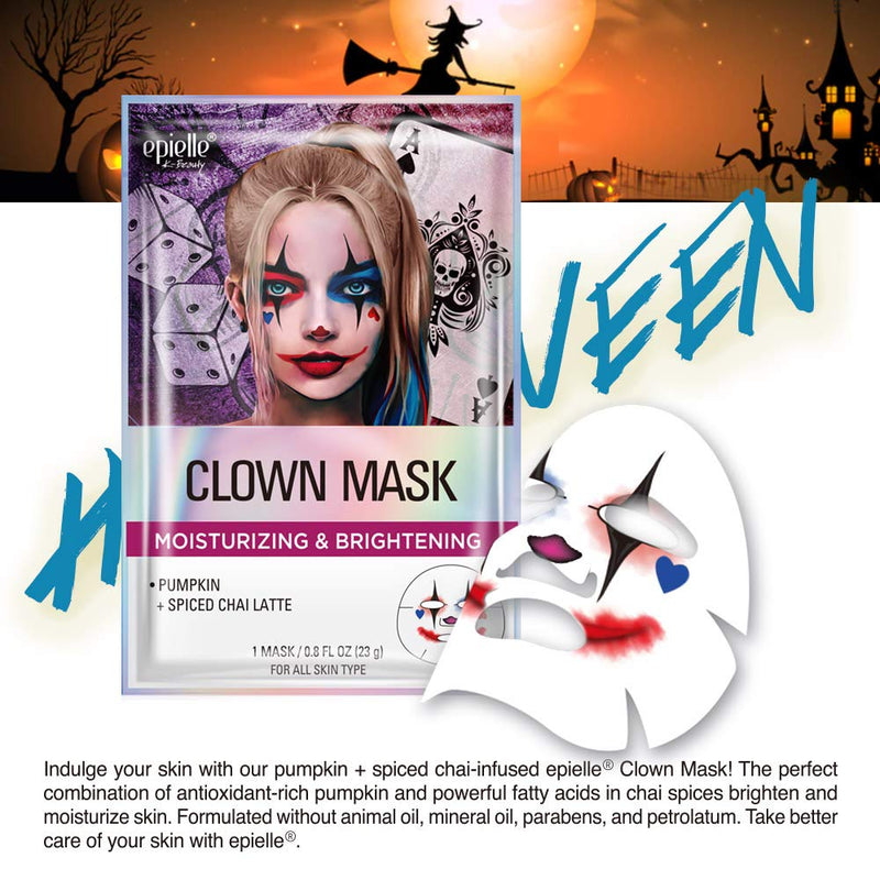 Epielle Character Sheet Masks Set (4 Pack)