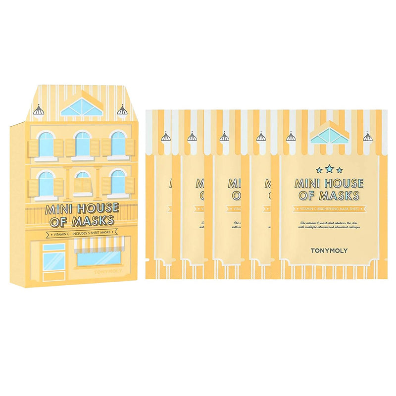 TONYMOLY Mini House of Masks Set - Vitamin C