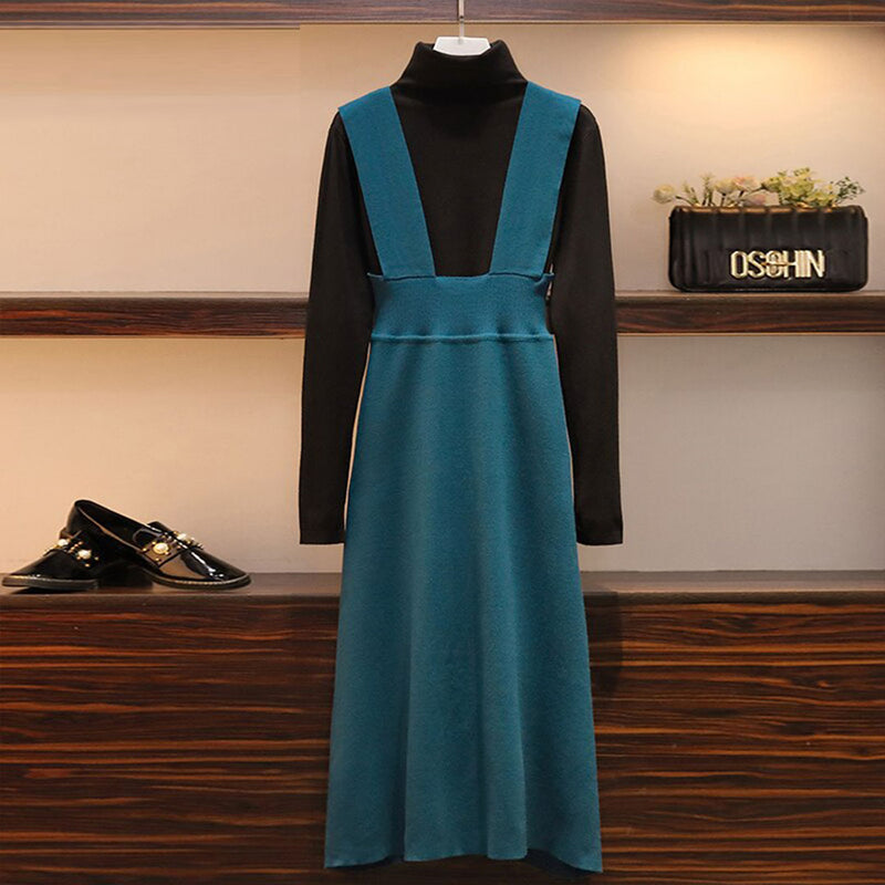 Harmony High Neck Sweater + Winter Dress