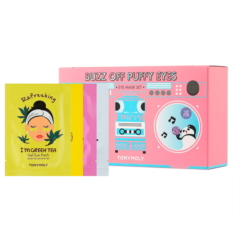 TONYMOLY Buzz Off Puffy Eyes Mask Set