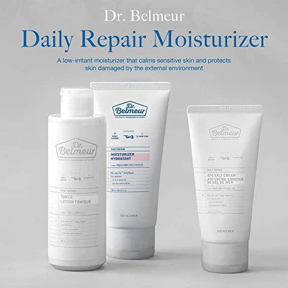 [THEFACESHOP] Dr. Belmeur DAILY REPAIR MOISTURIZER for Sensitive and Delicate Skin (120 ML / 5 FL OZ)