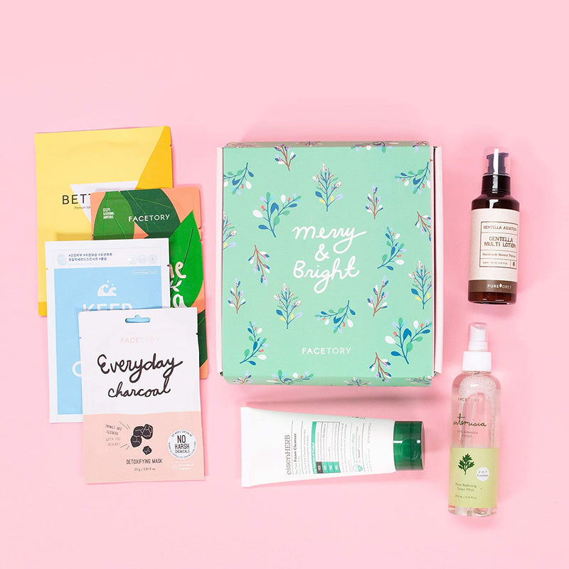 FaceTory 7 Days of Glow Skincare Set for Oily Skin