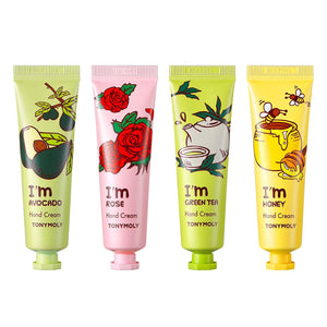 TONYMOLY I'm Hand Cream (Set of 4, Assorted)